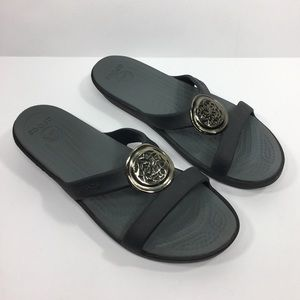 Crocs Sandals Black Size y
